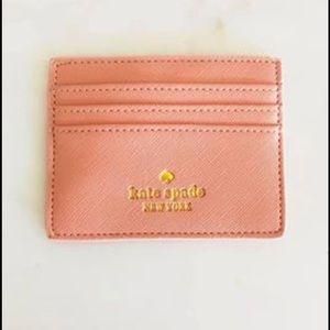 kate spade Accessories - Kate Spade Glitter Cardholder